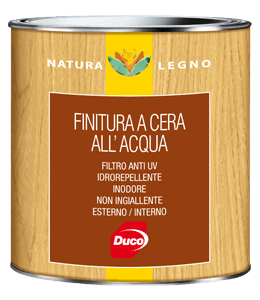Finitura a cera all'acqua