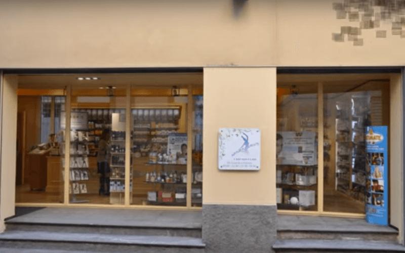 negozio di erboristeria