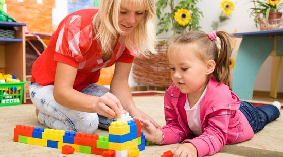 the hills district child care centre friendly child carer