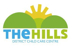 the hills district child care centre business logo
