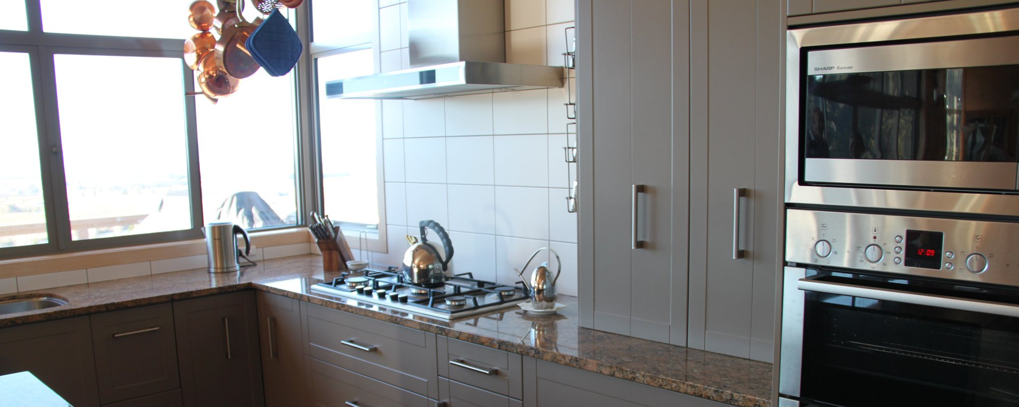 View of a renovated kitchen in Motueka