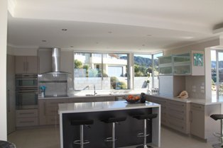 View of a renovated kitchen