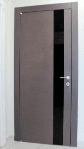 porta inserto in vetro