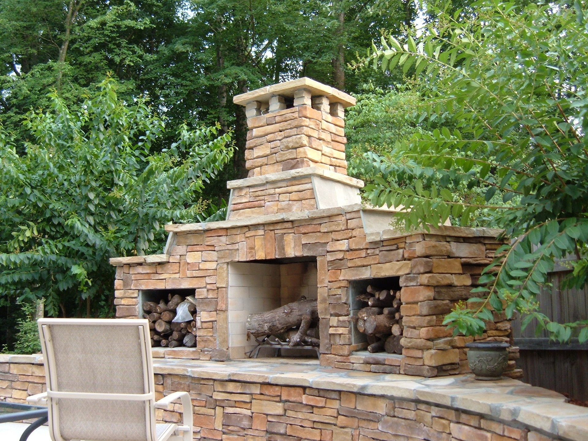 Firerock fireplace kits for Firerock fireplaces
