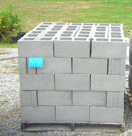 8x8x16 concrete block
