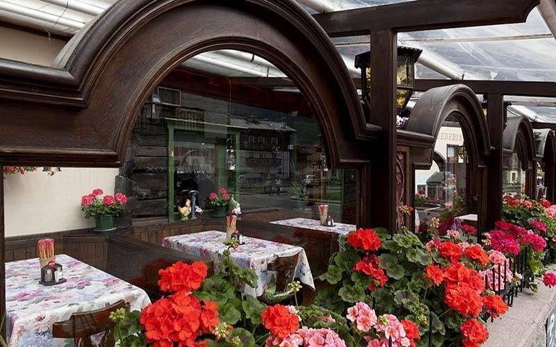portico del ristorante