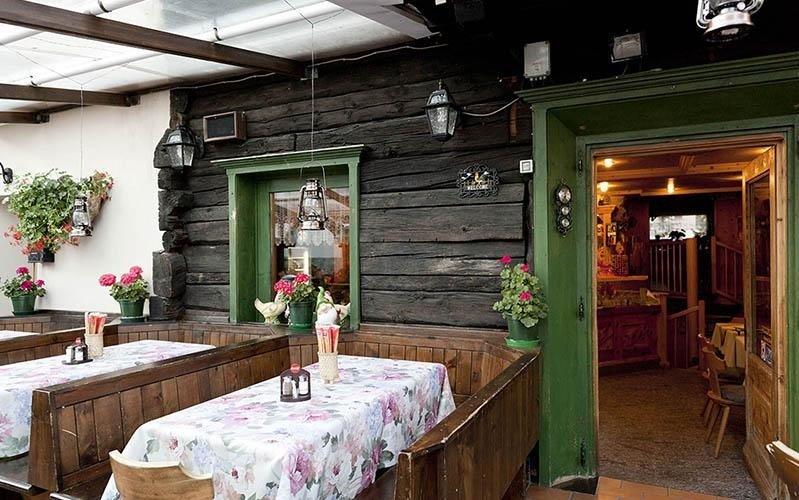 ristorante tipico locale della Valtellina