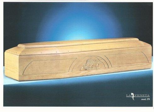bara di legno colore chiaro con design circolare nel; laterale