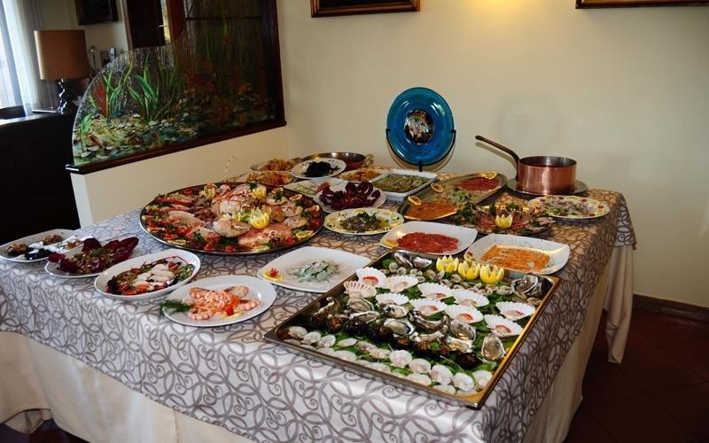 Pranzo Di Compleanno A Base Di Pesce : Cucina di mare vicenza ristorante storione