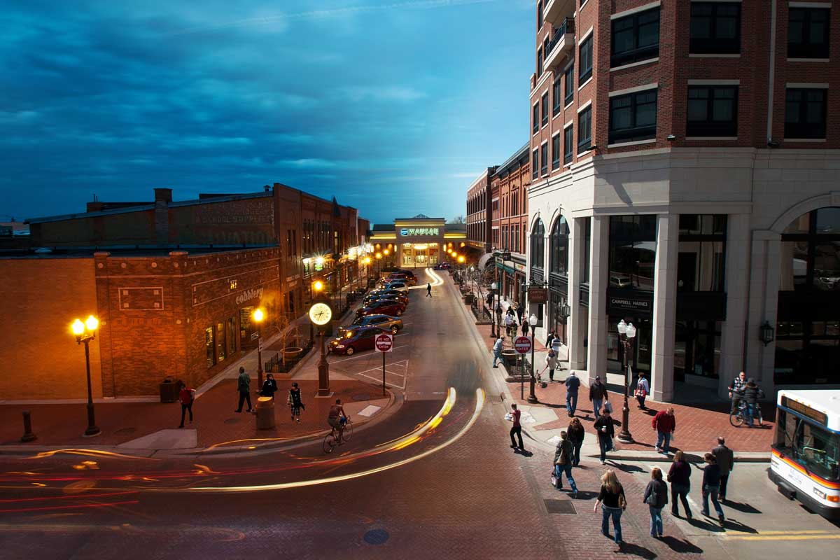 Downtown Wausau offers a productive daytime atmosphere and an exciting nightlife scene for all ages.