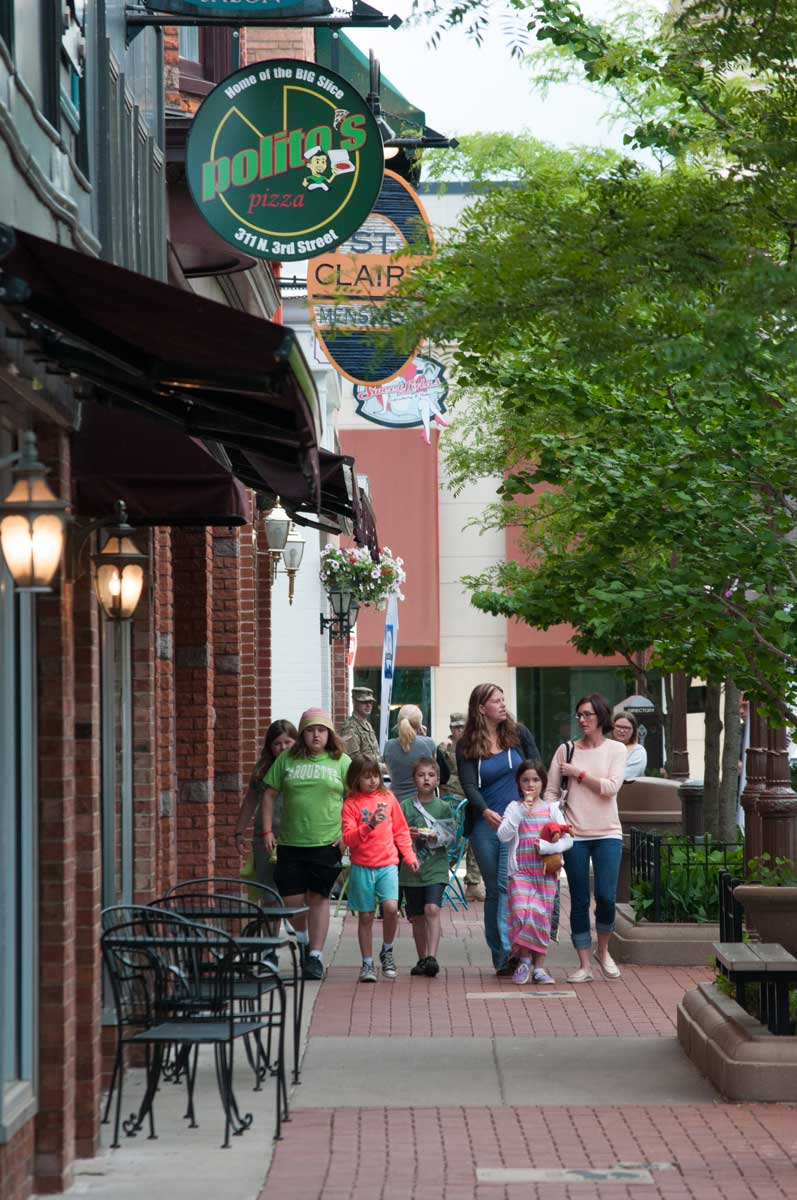 Third Street Lifestyle Center, Great eats and shopping central to downtown Wausau