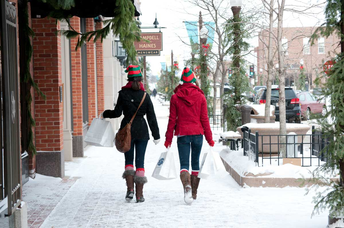 Excellent holiday shopping in picturesque downtown wausau