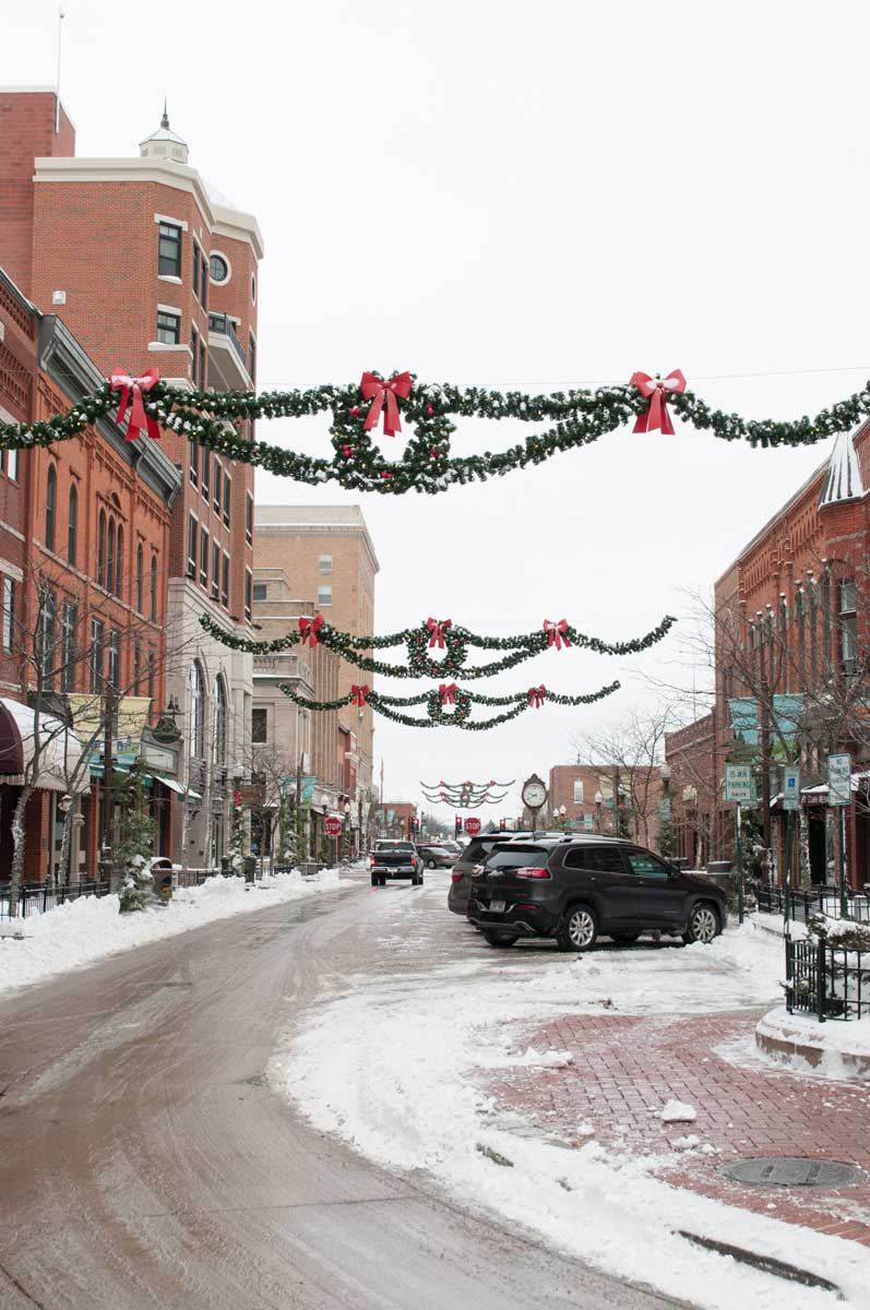 Beautiful holiday décor from the City of Wausau