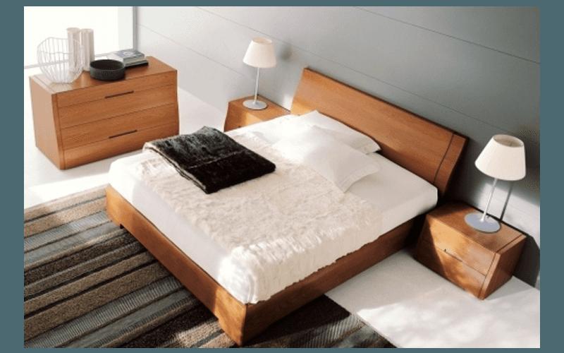 letto in legno