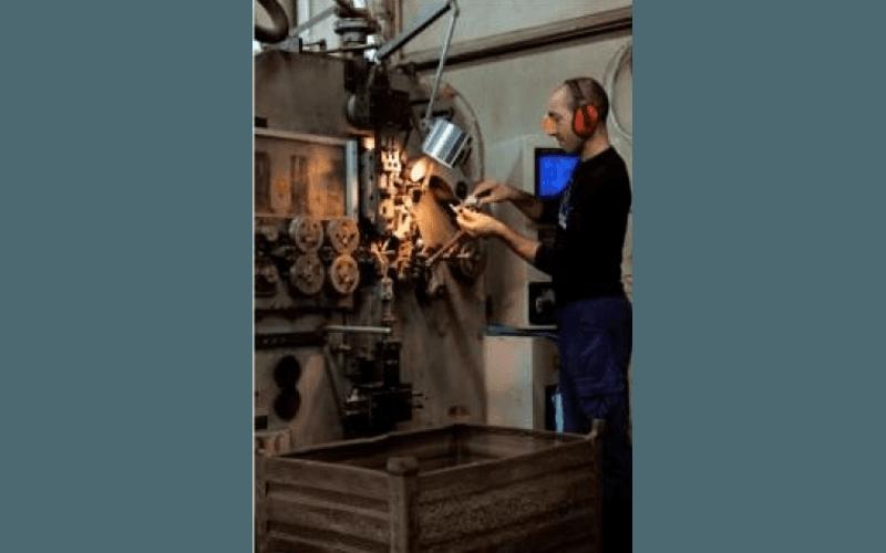Operaio del mollificio