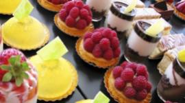 monoporzioni salate, dolci sporzionati, preparazione dolci per eventi
