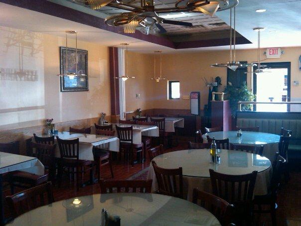 Inside Marina restaurant & pizza in Harriman, NY