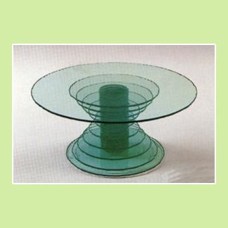 tavoli di cristallo