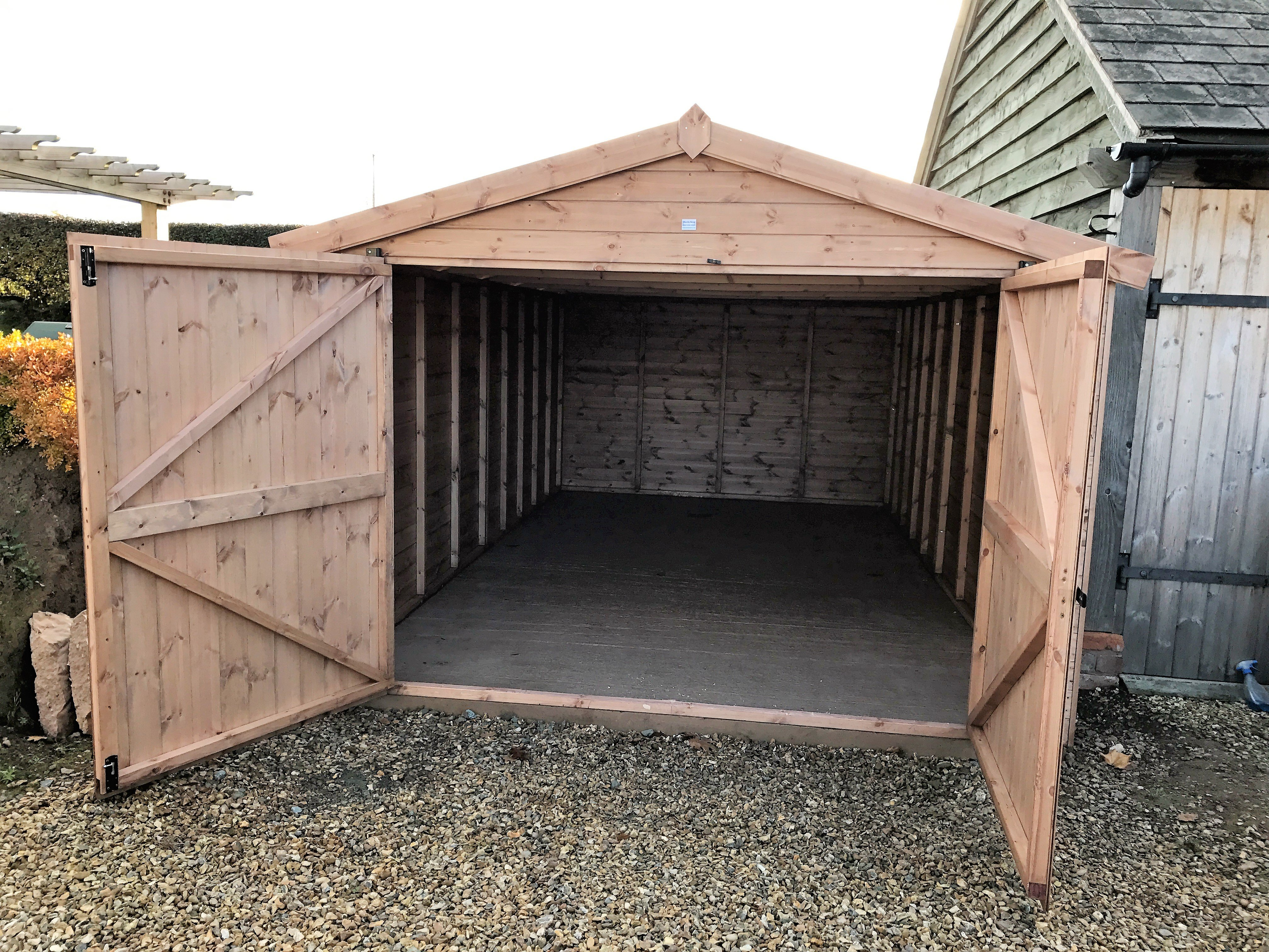 Bespoke sheds garden buildings from sheds now in telford for Garden sheds built on site