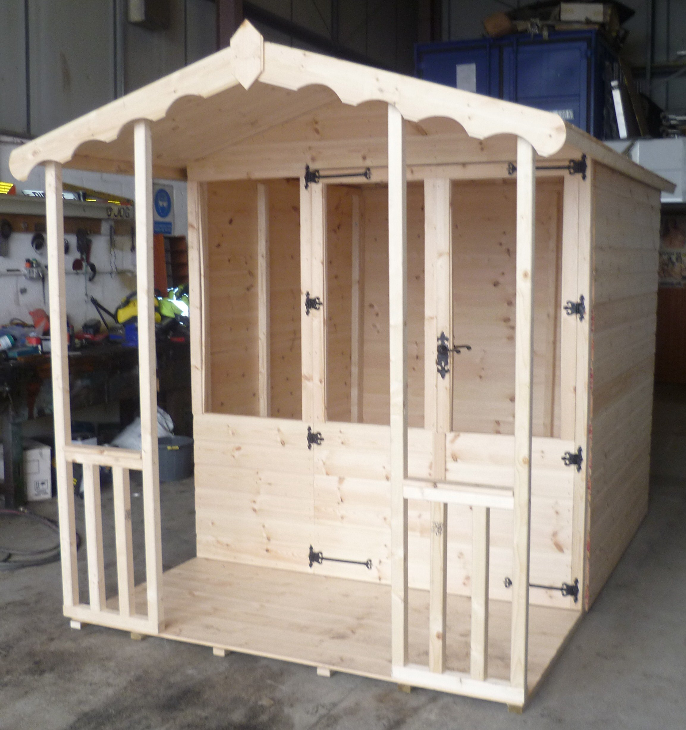 Bespoke playhouses
