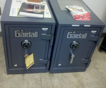 Pair of Gardall safes