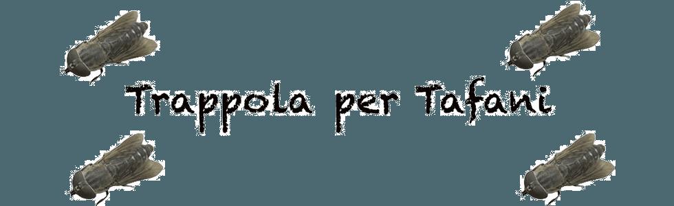 trappole per tafani Arezzo
