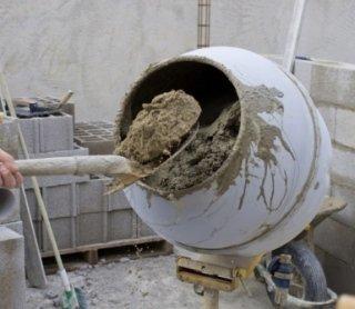 noleggio betoniere, cemento