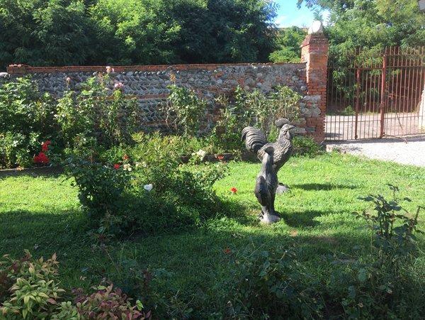 giardino privato ben curato