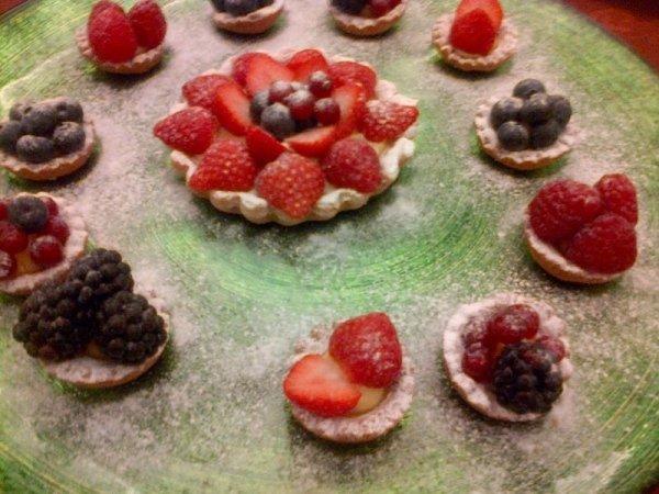 crostatine frutta