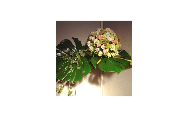 composizioni floreali battesimo
