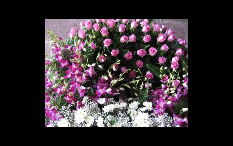 corona di fiori per funerale
