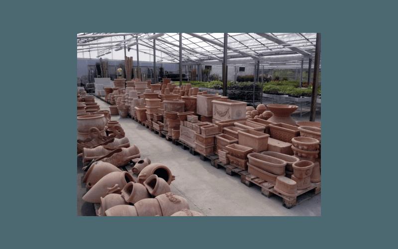 vasi di terracotta