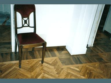 posa pavimento il legno