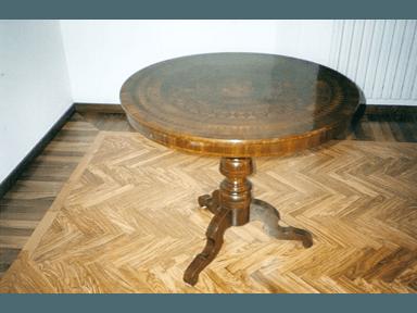 verniciatura pavimento in legno