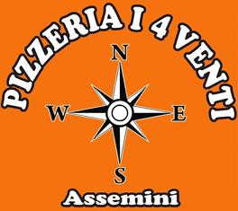 PIZZERIA I 4 VENTI-Logo