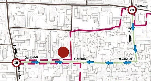 mappa ZTL a  Seregno