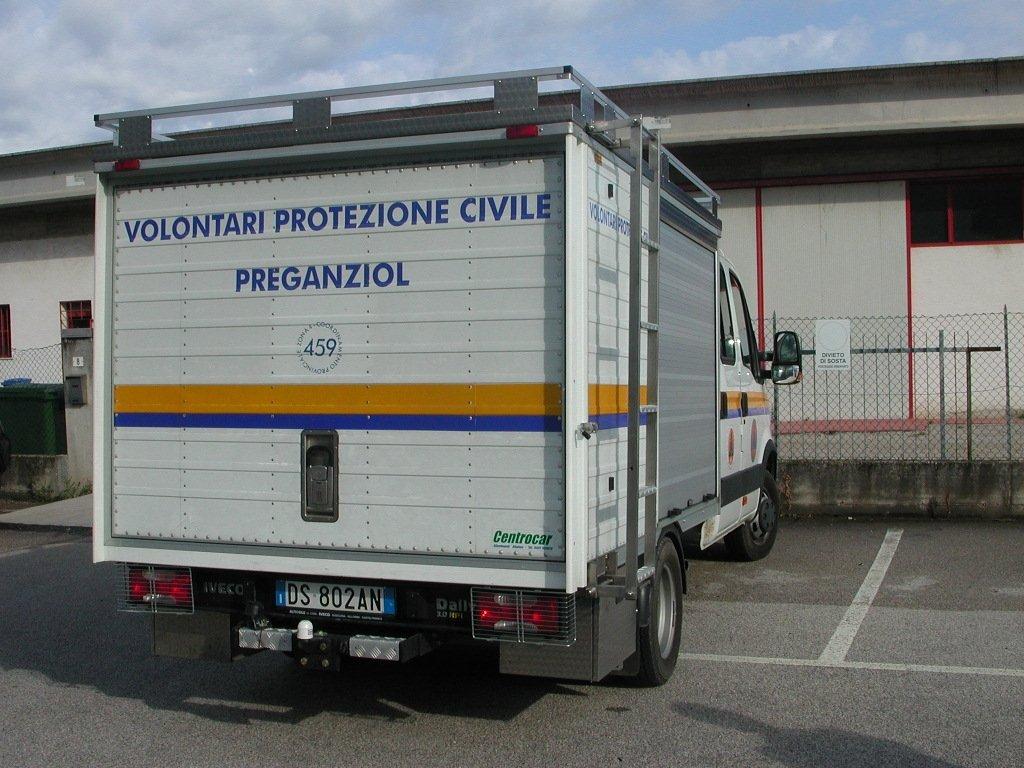 furgone per Protezione civile
