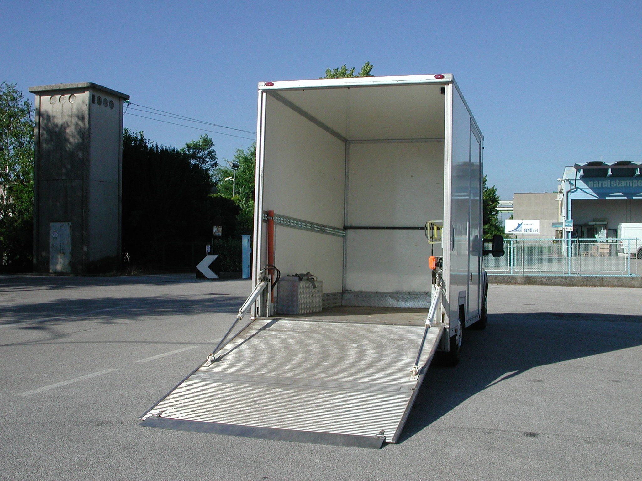furgone con rampa