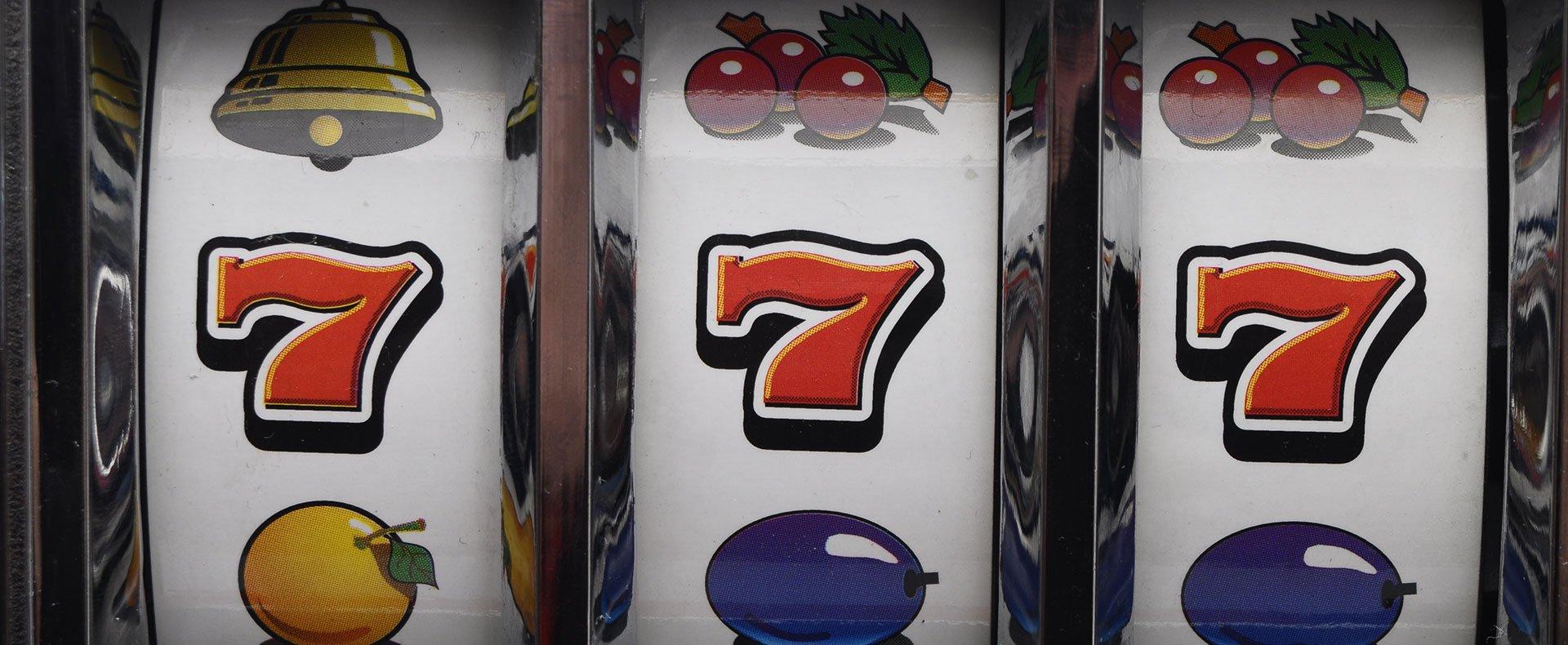 schermata di slot machine