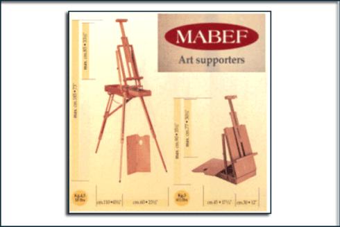 ESISTENZA CAVALLETTI MABEF - Produzione di oggetti di qualità e d