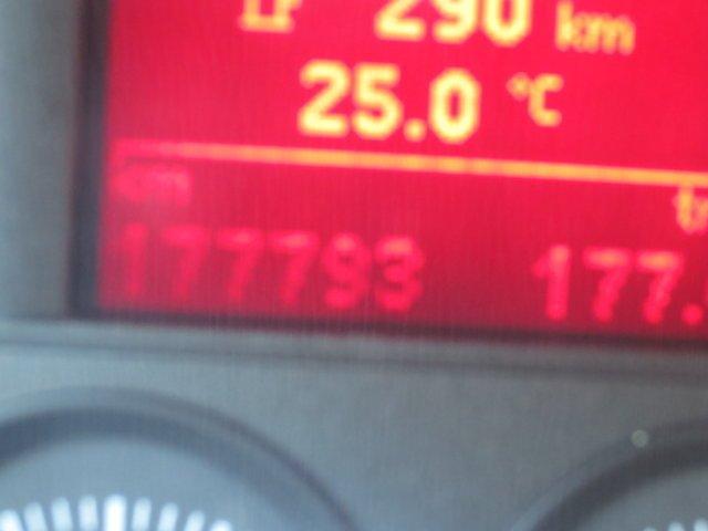 display temperatura in un'auto