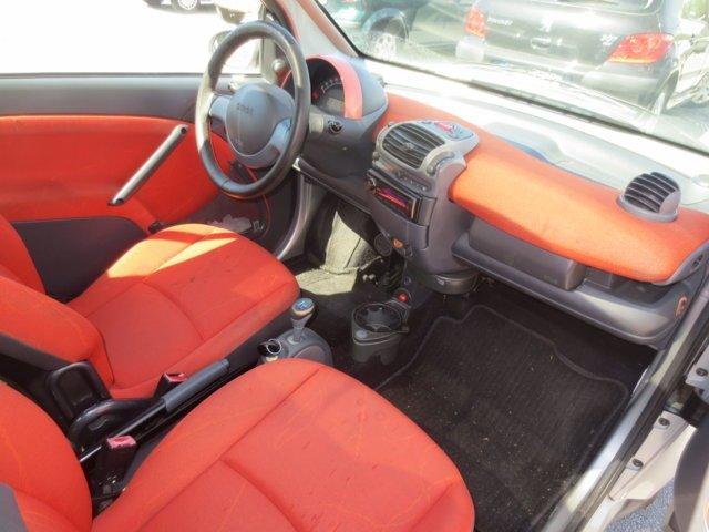 interni rossi auto Smart