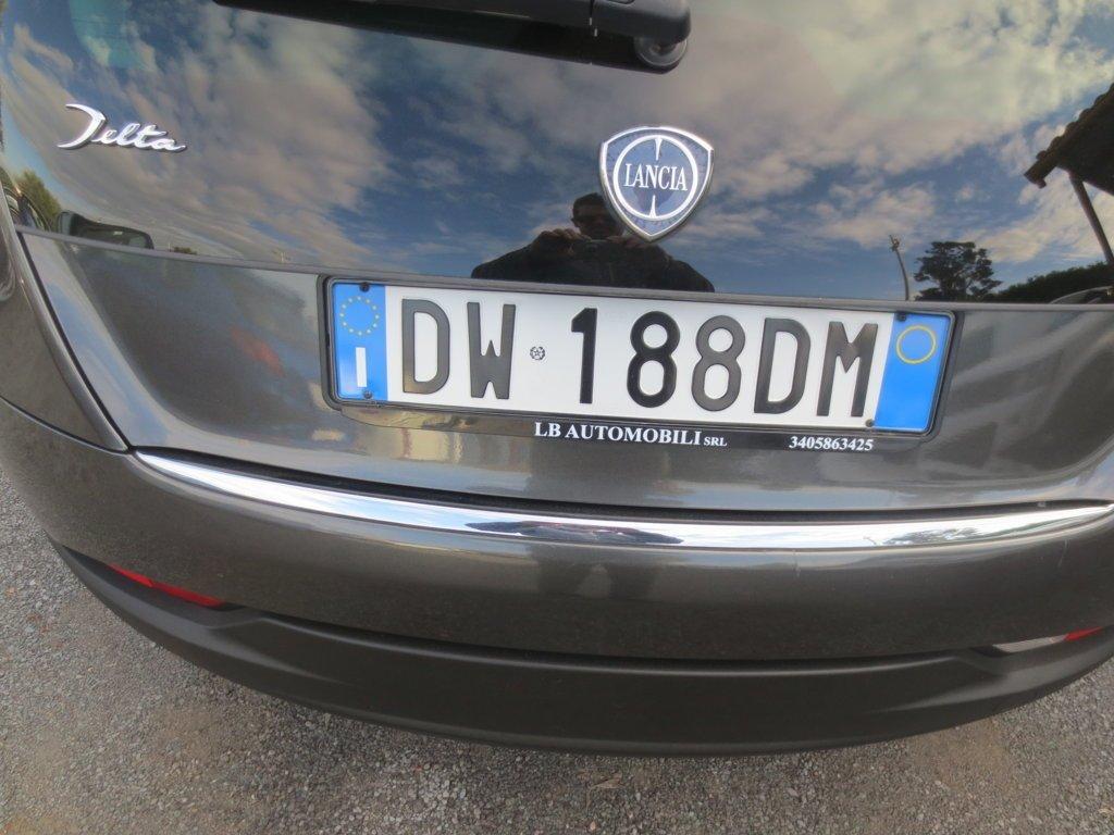 targa Lancia Delta