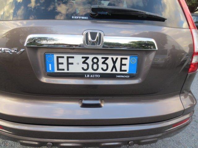 targa Honda CVR usata
