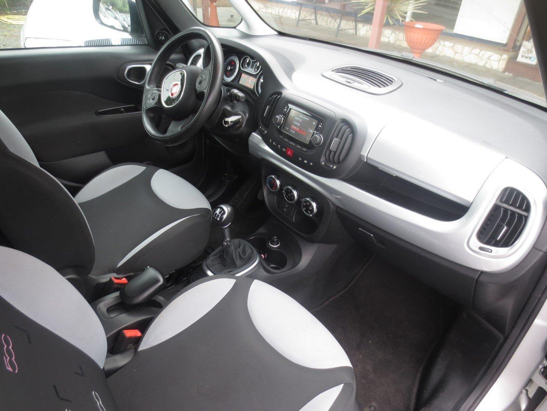 interno Fiat 500L Grigia usata in ottime condizioni