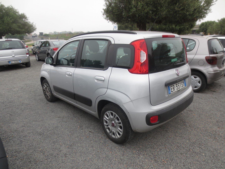Fiat Panda usata parcheggiata