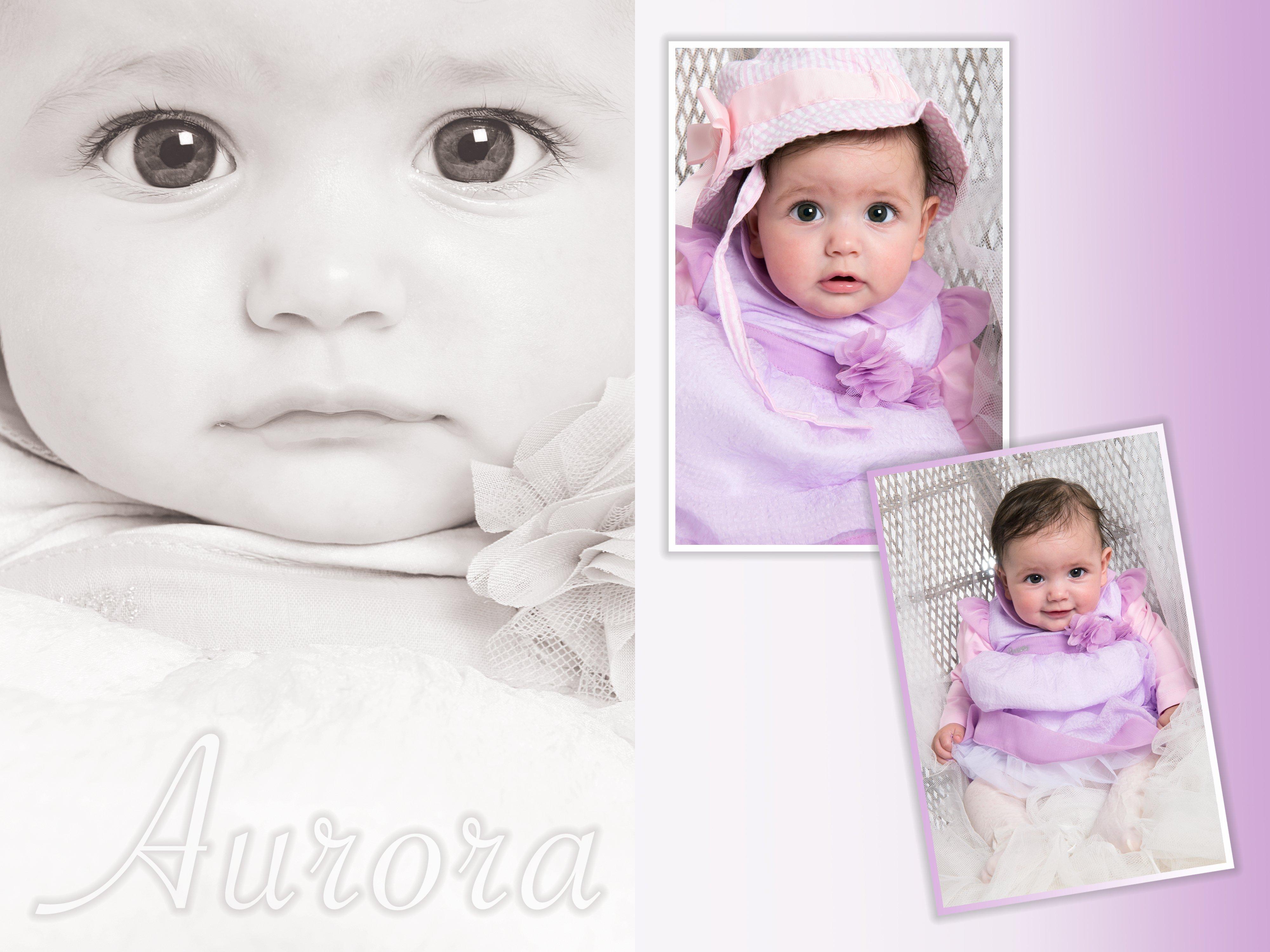 collage di foto di bambine