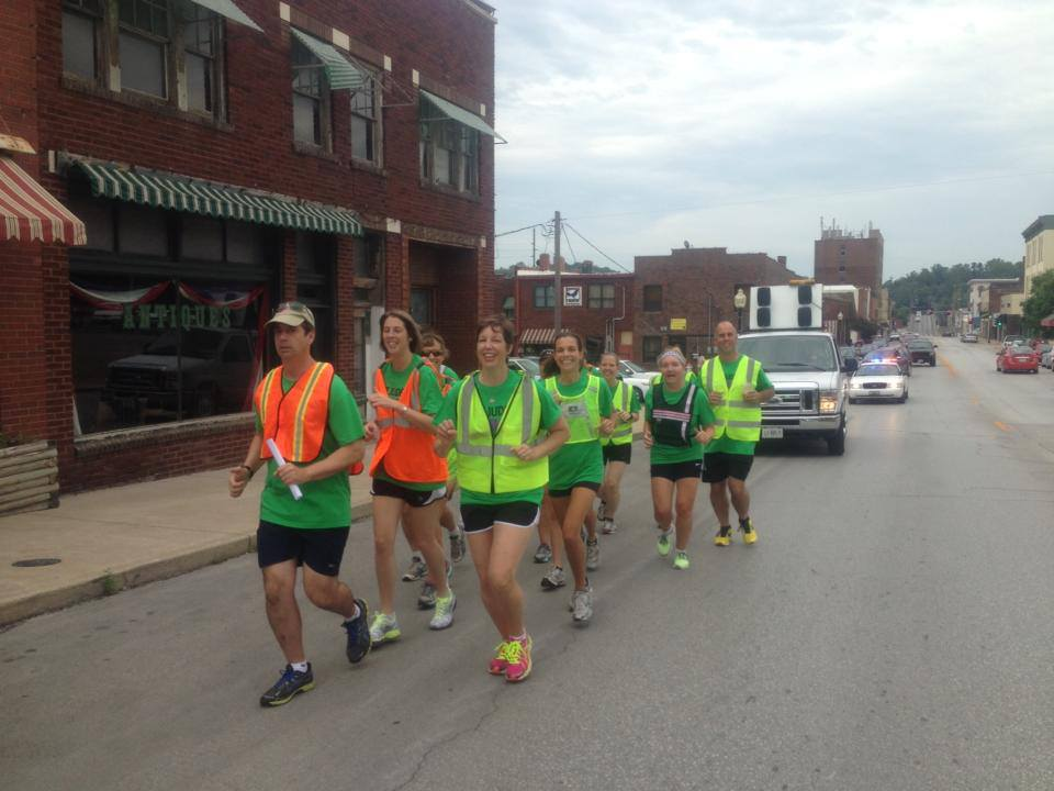 Quincy IL, st jude race, benefit run