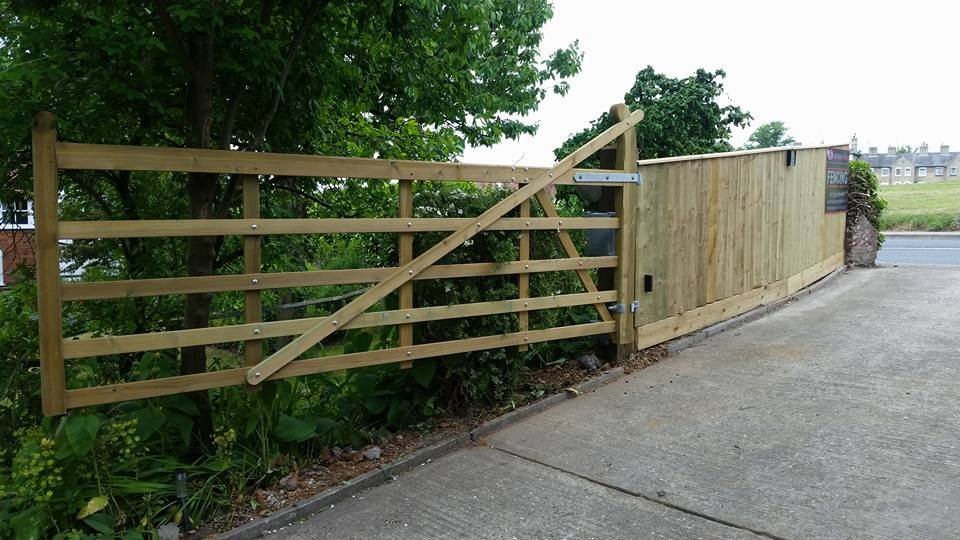 domestic fence