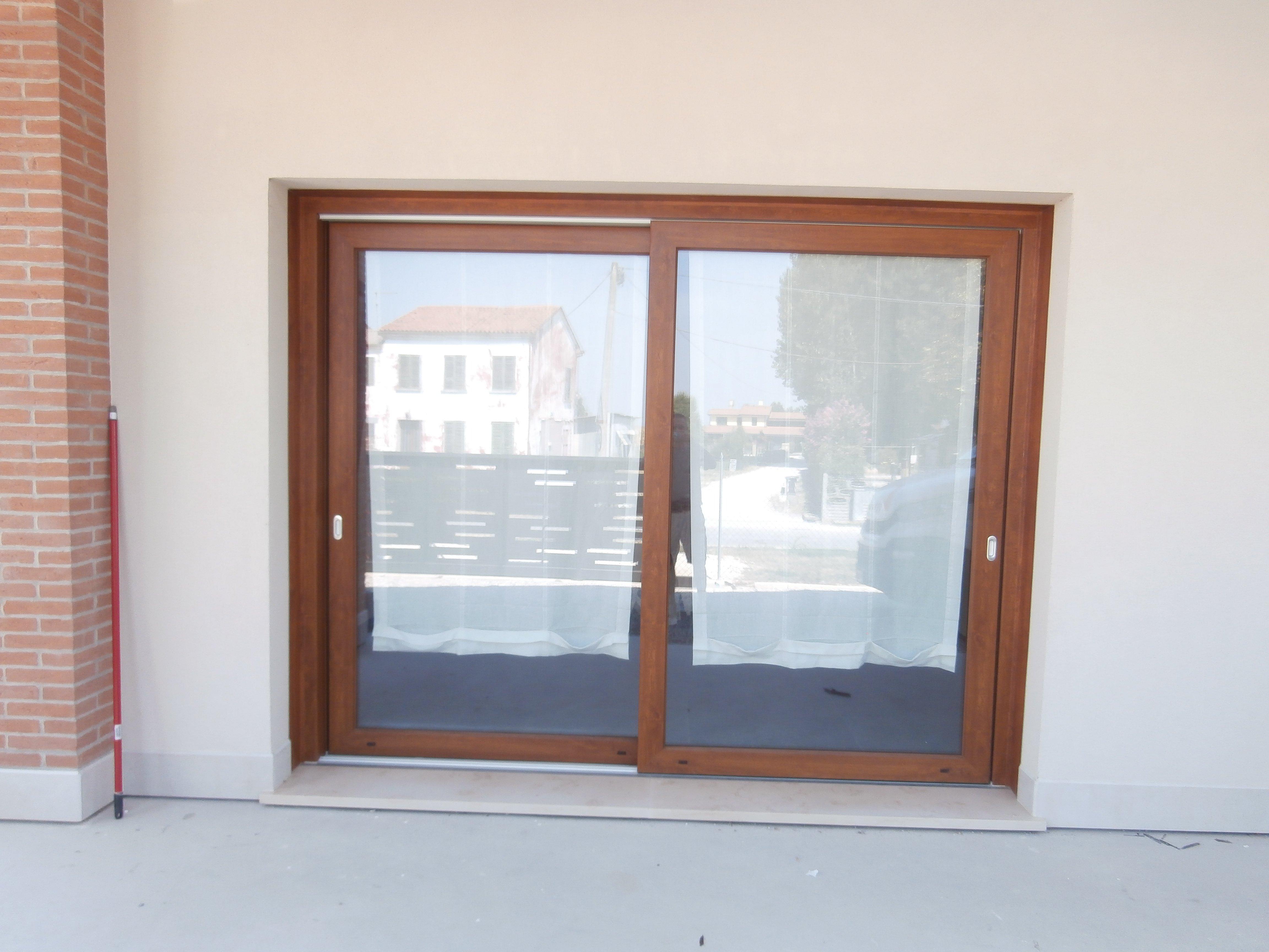 Porta in PVC di Duemme Serramenti a Campagna Lupia
